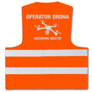 Bezrękawniki dla pilotów dronów