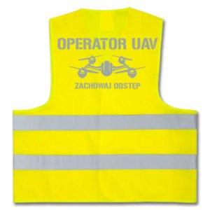 OPERATOR UAV - kamizelki z nadrukiem