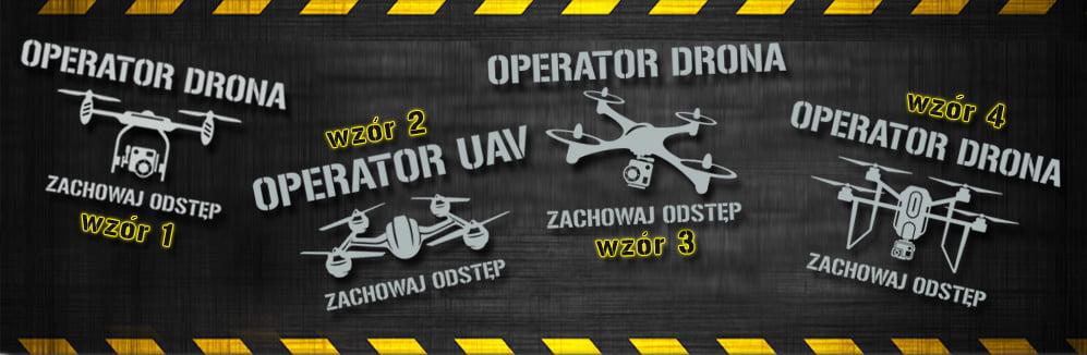 Kamizelka ostrzegawcza odblaskowa OPERATOR DRONA