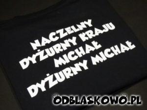 Koszulka odblaskowa naczelny dyżurny kraju