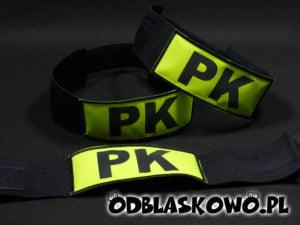Opaska odblaskowa napis PK