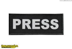 Emblematy odblaskowe press