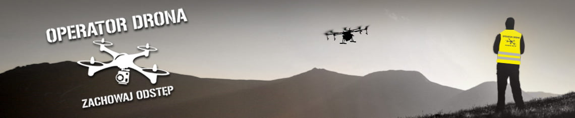 Kamizelka operator drona