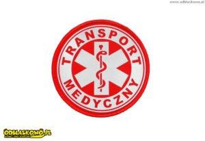 Kółko odblaskowe transport medyczny
