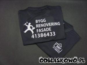 Koszulka odblaskowa BRF czarna