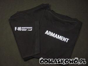 Koszulka odblaskowa z nadrukiem armament