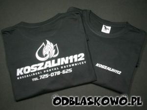 Koszulka z nadrukiem koszalin112