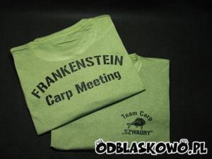 Koszulka khaki z nadrukiem szwagry
