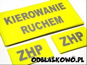 Żółta naszywka ZHP