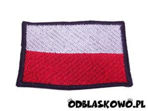 Naszywka flaga polski