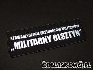 Naszywka odblaskowa militarny Olsztyn