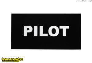 Naszywka odblaskowa pilot