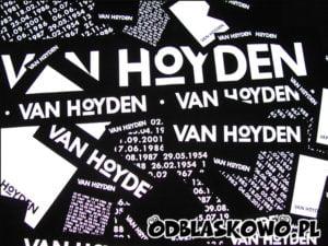Naszywka odblaskowa van hoyden