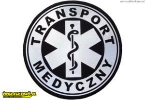 Naszywka transportu medycznego odblaskowa