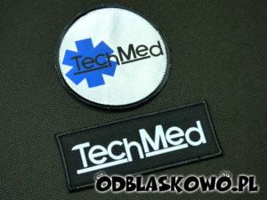 Naszywki medyczne napis TechMed