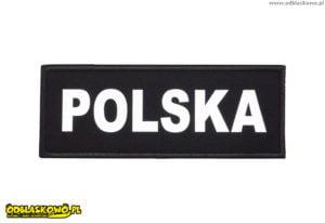 Naszywki odblaskowe napis polska