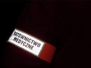 Odblask na ramie ratownictwo medyczne