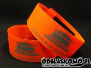 Pomarańczowa opaska flex rzecznik praw obywatelskich