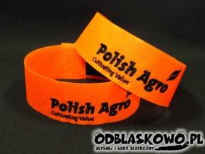 Opaska pomarańczowa haft polish agro