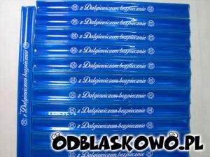 Opaska niebieska z Dalgiewiczem bezpiecznie