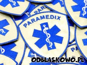 Paramedix naszywka odblaskowa