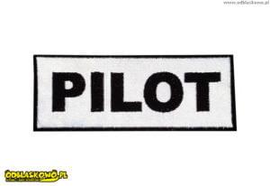 Pilot naszywka odblaskowa