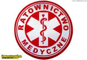 Ratownictwo medyczne w kółku odblaskowym