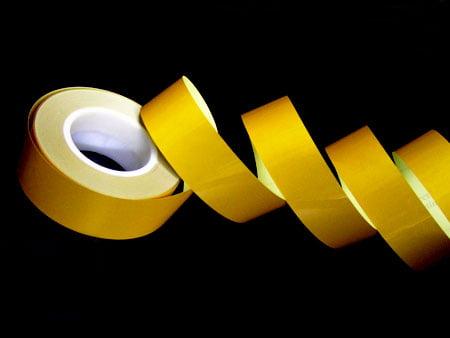 Taśma żółta gładka
